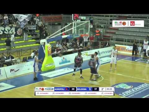 Fortitudo, gli highlights del match Gara 2 contro Agropoli