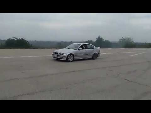 Burnout Bmw e46 323i 170hp