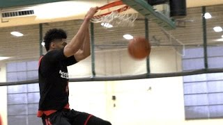 Nicholas Richards 4K Highlights - McDonald's All-American Practice
