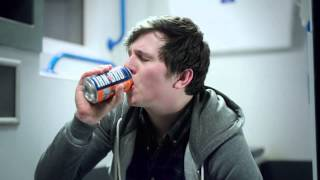 New IRN-BRU ad. Cheeky in more ways than one. BRU #GetsYouThrough.