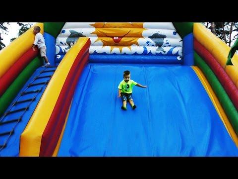 ★ Аттракционы Детская ПЛОЩАДКА Развлечения Детям Children's Playground Entertainment for Kids Videos (видео)