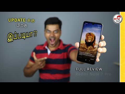 Redmi Note 7 Pro Full REVIEW after 20 Days w/ Pros and Cons | Tamil Tech