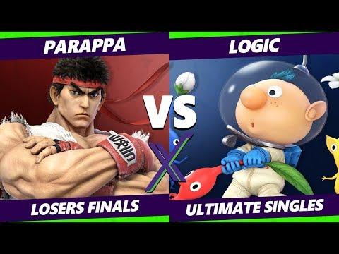 Smash Ultimate Tournament - Parappa (Ryu) Vs. Logic (Olimar, Palutena) S@X 285 SSBU Losers Finals