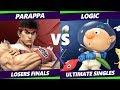 Parappa (Ryu) Vs. Logic (Olimar, Palutena) S@X 285 SSBU Losers Finals