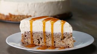 Banana Bread Bottom Cheesecake by Tasty