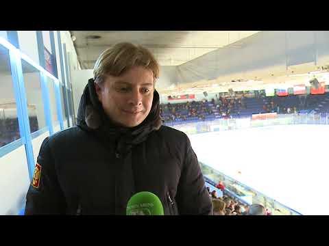 Управляющий директор чемпионата ВХЛ Кирилл Пафифов побывал на матче ХК «Рубин» - ХК «Ростов» - 3:2