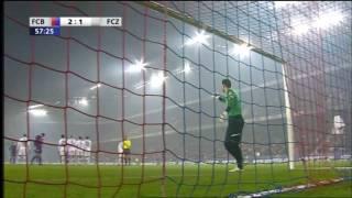 Alexander Freis toller Freistoß gegen den FC Zürich