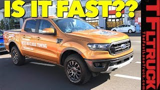 We Accidentally Drove the New 2019 Ford Ranger: Does it Compete With Toyota and Chevy? by The Fast Lane Truck