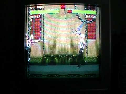 1993 Mortal Kombat 2 Snes Version GamePlay With Baraka
