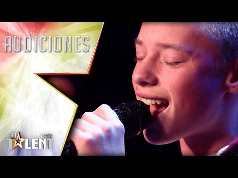Video Ryan consigue ponerle la piel de gallina a Edurne | Audiciones 6 | Got Talent España 2017 download in MP3, 3GP, MP4, WEBM, AVI, FLV January 2017