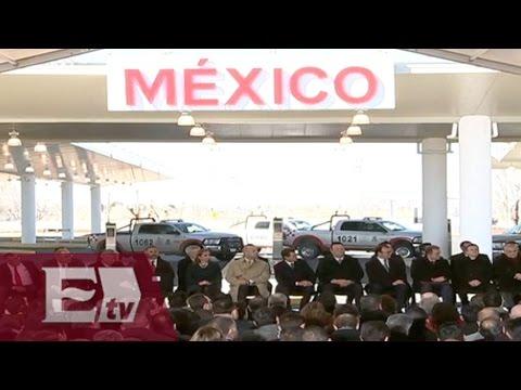 Detalles de la inauguración del Puerto Fronterizo Guadalupe-Tornillo, Chihuahua