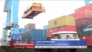 Leo Nyanjani Februari 2, 2016: Shughuli za Bandarani