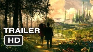 Oz the Great and Powerful Official Trailer (2013) Sam Raimi Wizard of Oz Movie HD