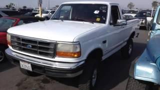 1996 Ford F-150 XLT 4X4  Used Cars - Tucson,Arizona - 2014-01-10