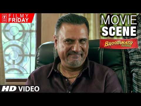 BOMAN IRANI Underestimates Akhrot | Bhootnath Returns Movie Scene | T-Series Filmy Friday