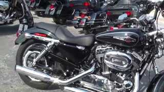 10. 411394 - 2014 Harley Davidson Sportster 1200 Custom XL1200C - Used Motorcycle For Sale