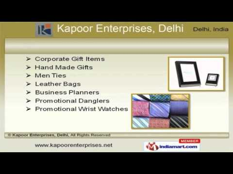 Promotional Gift Items by Kapoor Enterprises, Delhi