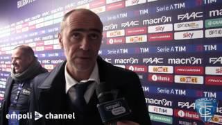 Preview video <div>Le parole di mister Martusciello al termine di Bologna-Empoli</div>