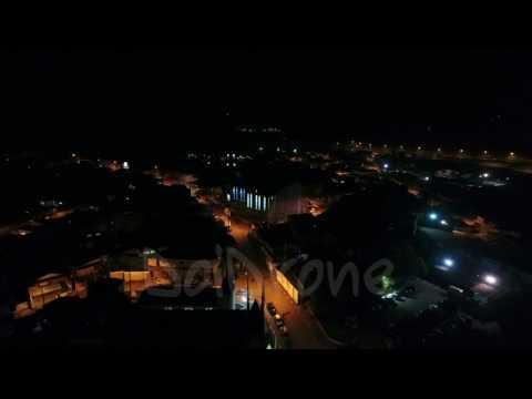Favelacop Sobrevoando Juquitiba a noite - Doidrone