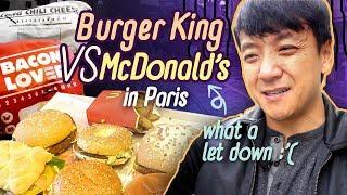Video McDonalds vs Burger King in Paris France, WORST FAST FOOD Meal! MP3, 3GP, MP4, WEBM, AVI, FLV Agustus 2019