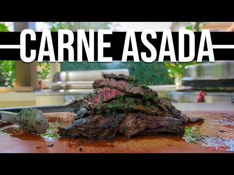 The Best Carne Asada | SAM THE COOKING GUY
