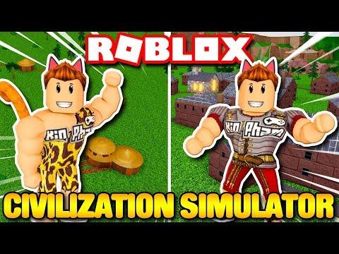 Roblox | KIA XÂY DỰNG THỜI KỲ ĐỒ ĐÁ LÊN THỜI ĐẠI HOÀNG GIA - Civilization Simulator | KiA Phạm - Thời lượng: 18 phút.