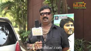 Stunt Master Thalapathi Dinesh at  Vilasam Movie Press Meet