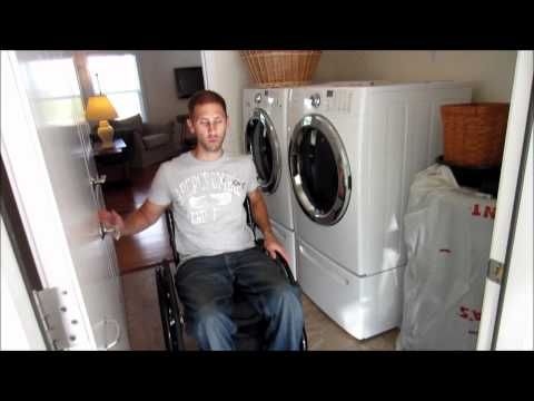 wheelchair - This video shows the modifications made during the construction of my home to make it wheelchair accessible.