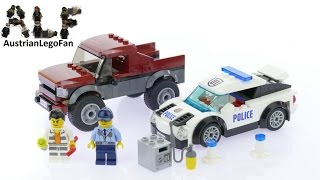 Lego City 60128 Police Pursuit - Lego Speed Build Review