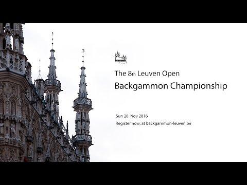 Leuven Open Backgammon 2016