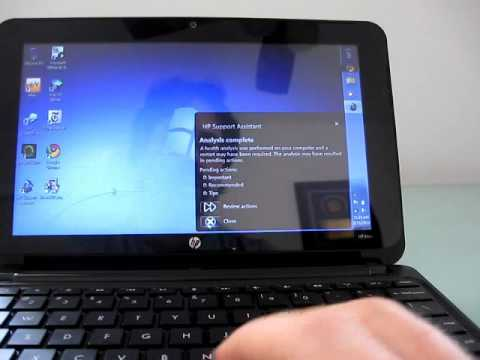 HP Mini 210 HD video review