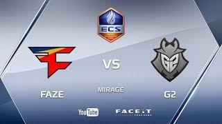FaZe vs G2, ecs s4, mirage