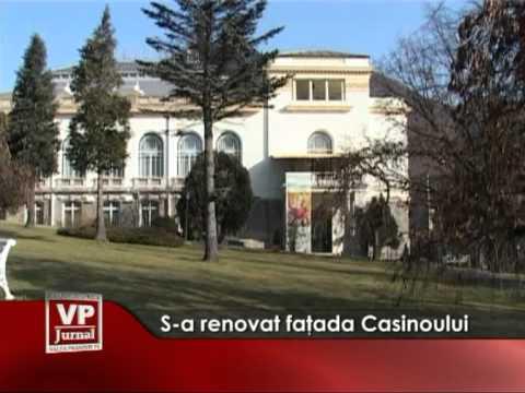 S-a renovat faţada Casinoului