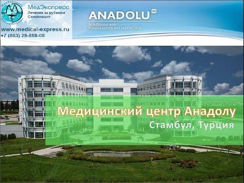 Клиника Анадолу. Стамбул, Турция