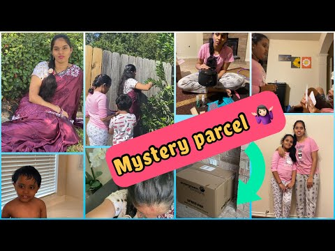 #Vlog/ఇంత పెద్ద parcel ఎవరు పంపారో తెలీదు😐/My new waxing kit/Hairstyle for saree/Yummy recipe/MM