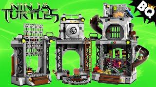 LEGO Ninja Turtle Lair Invasion 79117 TMNT Review