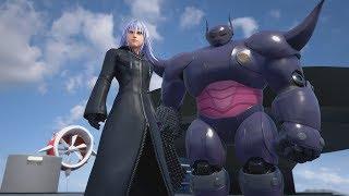 Kingdom Hearts 3 - Big Hero 6 Heartless Baymax Cutscene & Fight