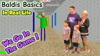 Video Baldi's Basics In Real Life! We GO in the Game and Beat Baldi | DavidsTV MP3, 3GP, MP4, WEBM, AVI, FLV September 2018