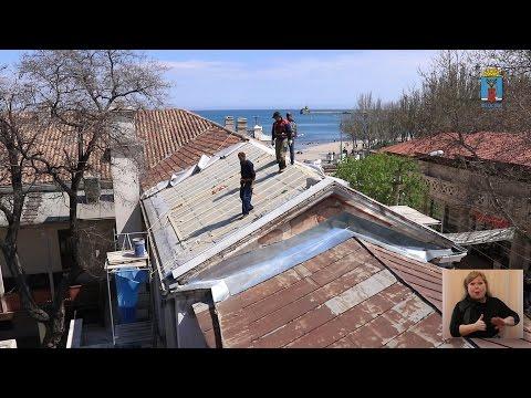 Фото новости - 20170414 Крым, Феодосия — Противоаварийные работы галереи Айвазовского. Сурдоперевод