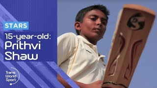 Video 15-year-old Prithvi Shaw: The Next Sachin Tendulkar? MP3, 3GP, MP4, WEBM, AVI, FLV Januari 2019