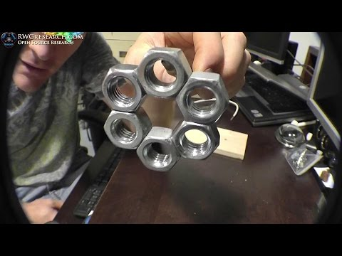 """Using - Oh Nuts!"""" Magnetic Lock... Your Going To Like This. Using The Principles Of Ed Leedskalnin PMH. Must Watch And Try… Amazing… SAFETY FIRST!!!!! Extremely Dangerous Experiment, I hold..."""