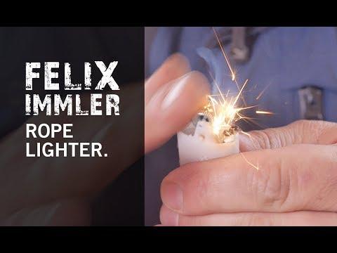 How to improvise a Rope Lighter/ Bauanleitung für ein Luntenfeuerzeug