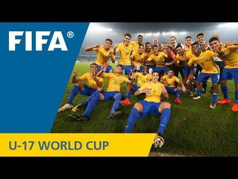 Match 46: Germany v Brazil – FIFA U-17 World Cup India 2017 (видео)