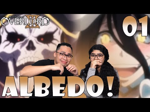 Overlord Season 3 Episode 1 Reaction and Review! HILARIOUS SEASON PREMIERE ALBEDO IS OUT OF CONTROL!