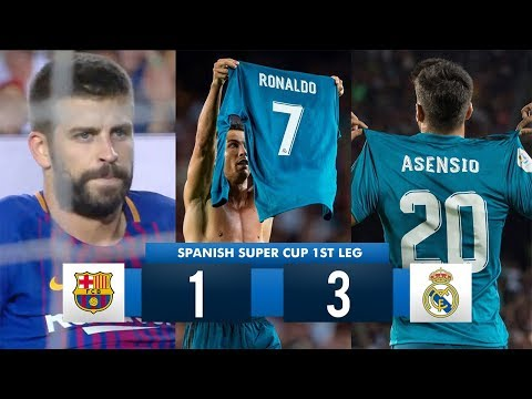 Download Barcelona 1-3 Real Madrid HD 1080i (Spanish Super Cup) Full Match Highlights 13/08/17
