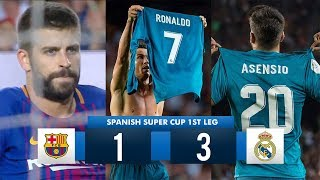 Video Barcelona 1-3 Real Madrid HD 1080i (Spanish Super Cup) Full Match Highlights 13/08/17 MP3, 3GP, MP4, WEBM, AVI, FLV Mei 2018