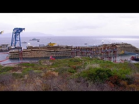 Costa Concordia wreck to be moved in June