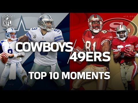 Video: Cowboys vs. 49ers: Top 10 Greatest Moments in the Historic Rivalry | NFL Highlights