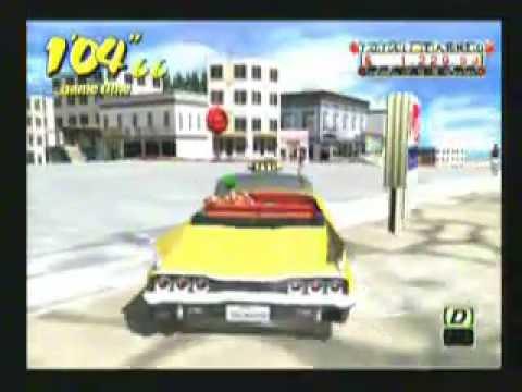 crazy taxi dreamcast test