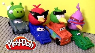 Play Doh Angry Birds Space Mater Disney Cars